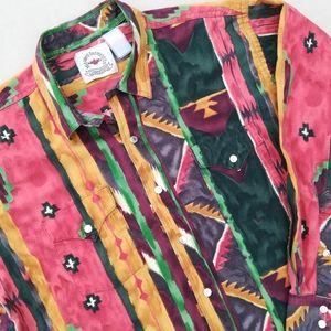 Vintage Western Rodeo Shirt